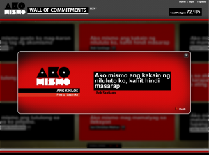 Ako Mismo Wall of Commitment 02