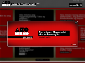 Ako Mismo Wall of Commitment 04